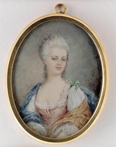 Porträtt av en ung dam