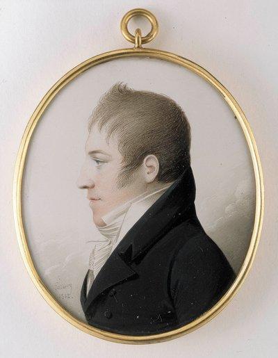 Porträtt av en herre