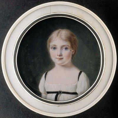 Porträtt av en flicka