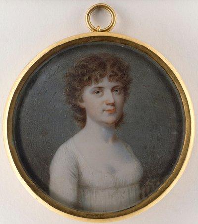 Porträtt av en dam