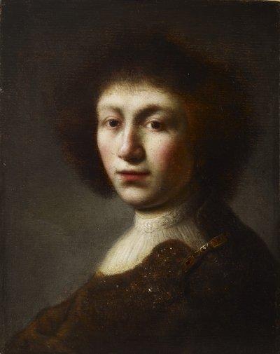Porträtt av en ung kvinna