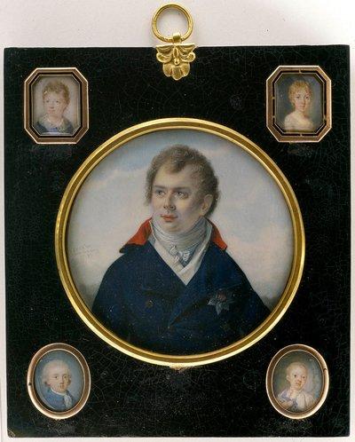 Kronprins Gustaf IV Adolf som åtta månader gammal