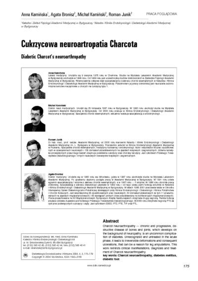 Cukrzycowa neuroartropatia Charcota