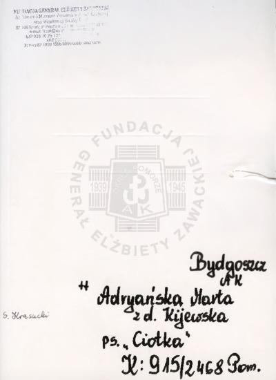 Adryańska Marta