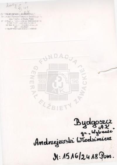 Andrzejewski Włodzimierz