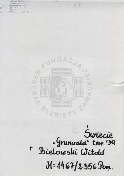 Bielowski Witold