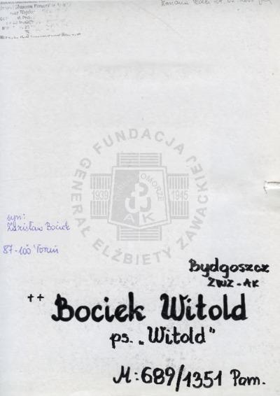 Bociek Witold