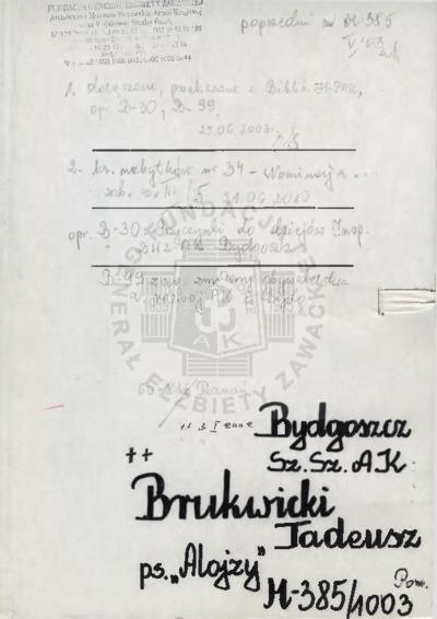 Brukwicki Tadeusz
