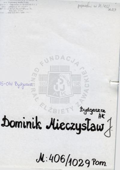 Dominik Mieczysław