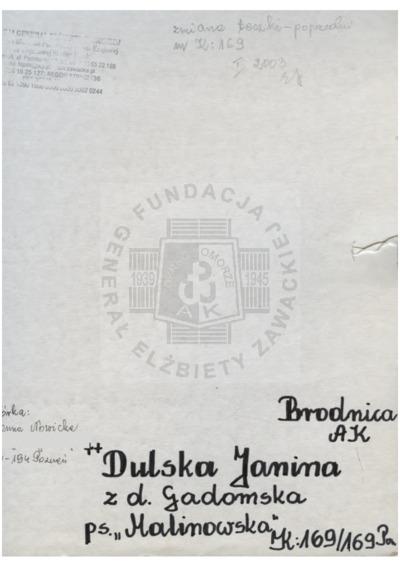 Dulska Janina
