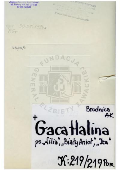 Gaca Halina