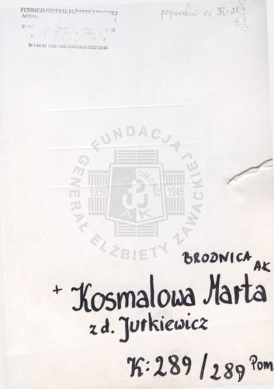 Kosmalowa Marta