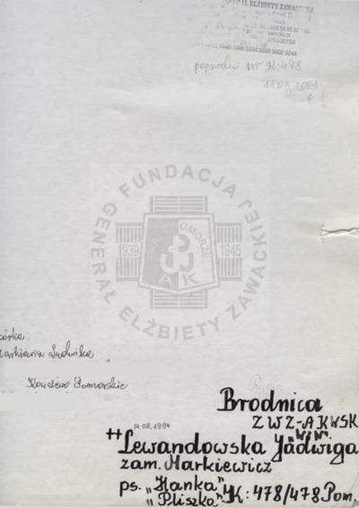 Lewandowska Jadwiga