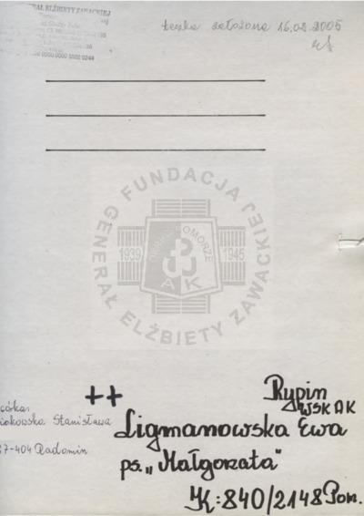 Ligmanowska Ewa