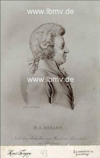 Image title: Mozart, Wolfgang Amadeus