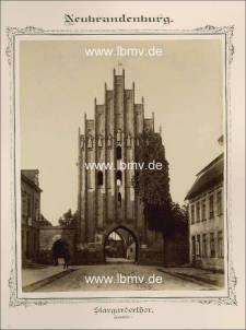 Neubrandenburg, Stargarder Tor (Innenseite)