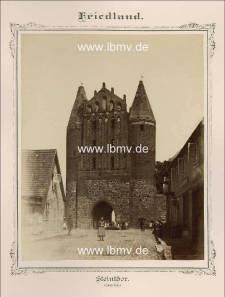 Friedland, Steintor (Innenseite)