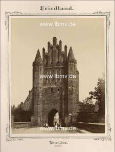 Friedland, Burgtor (Außenseite)