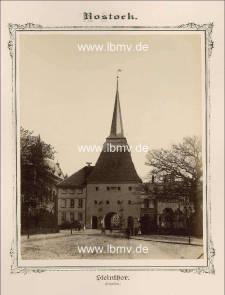 Rostock, Steintor (Außenseite)