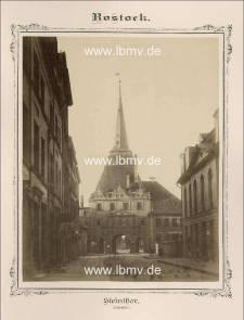 Rostock, Steintor (Innenseite)