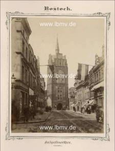 Rostock, Kröpeliner Tor (Innenseite)