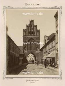 Teterow, Rostocker Tor (Innenseite)