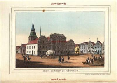 Güstrow, Markt