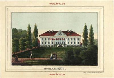 Hohenzieritz, Schloss
