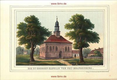 Neubrandenburg, St. Georgen-Kapelle