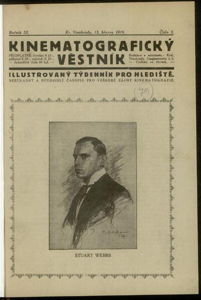 Kinematografický věstník 3/1919