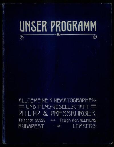 Unser Programm 1915/1916