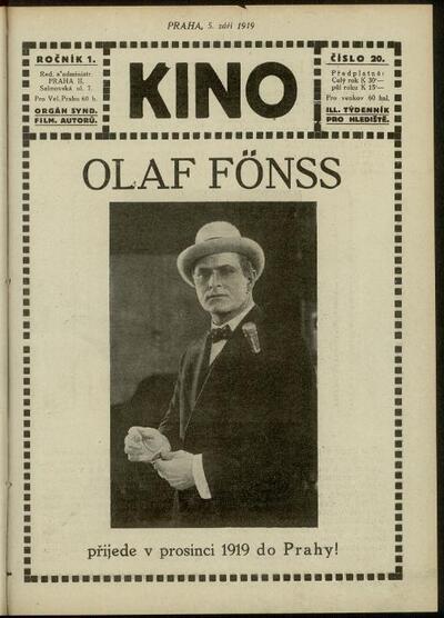 Kino 20/1919