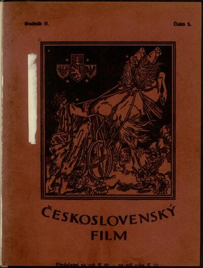 Československý film 1/1920
