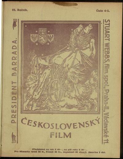 Československý film 4-5/1921