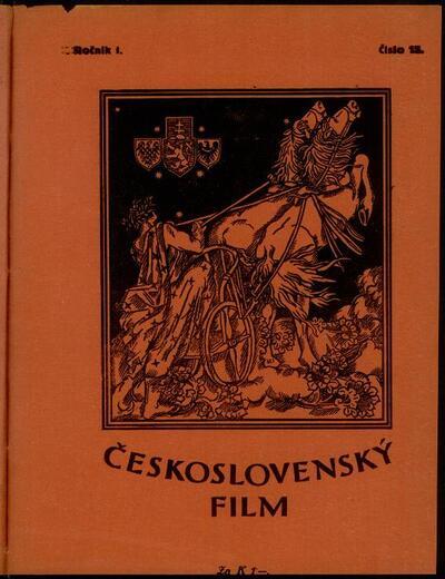 Československý film 15/1919