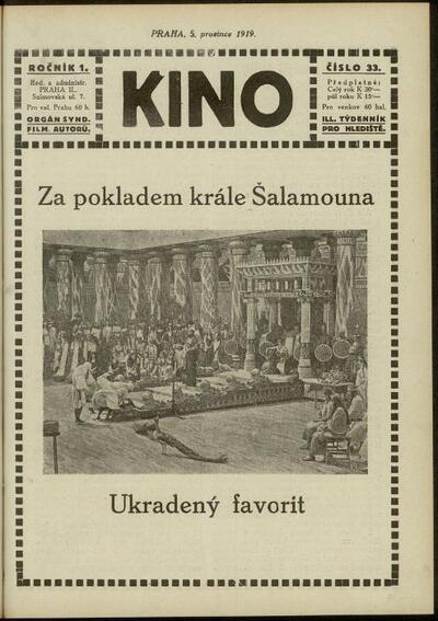 Kino 33/1919