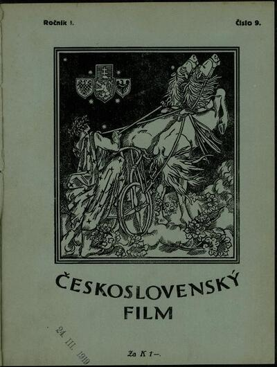 Československý film 9/1919