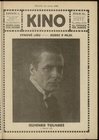 Kino 13/1919