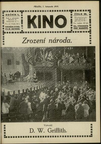 Kino 29/1919