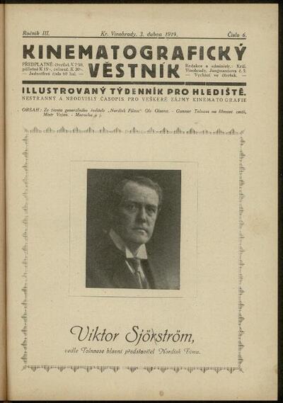 Kinematografický věstník 5/1919