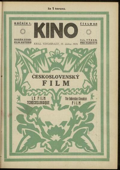 Kino 4-5/1919