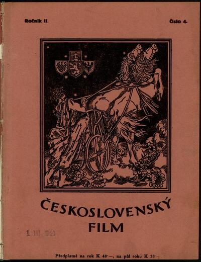 Československý film 4/1920