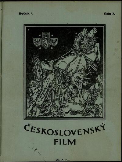 Československý film 7/1919