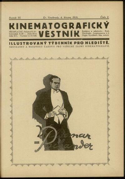 Kinematografický věstník 2/1919