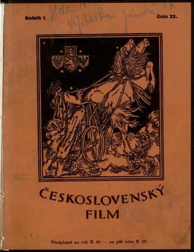Československý film 22/1919