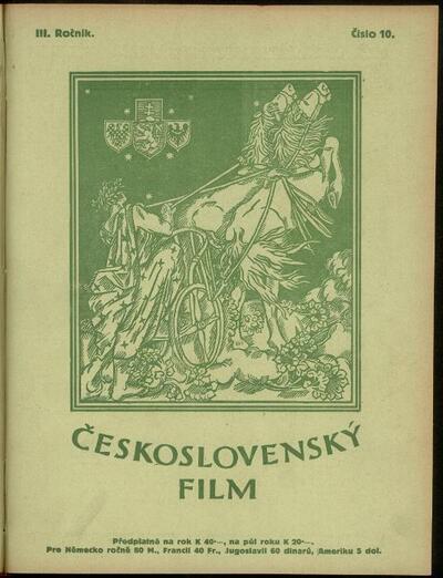 Československý film 10/1921