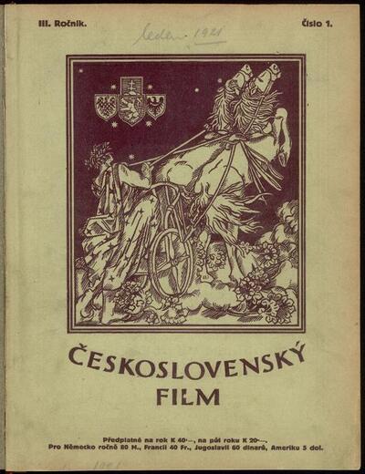 Československý film 1/1921