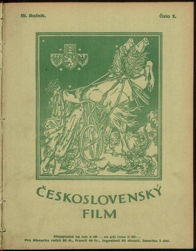 Československý film 3/1921