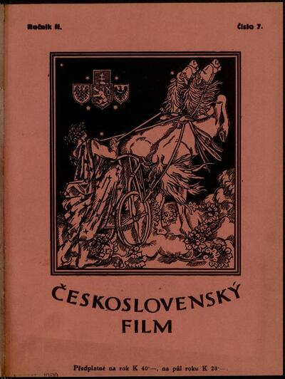 Československý film 7/1920