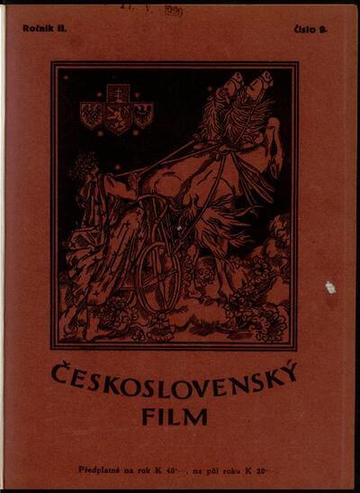Československý film 9/1920